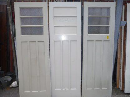 LEEN_Oude bouwmaterialen_3 oude deuren met glas 100.90.102061