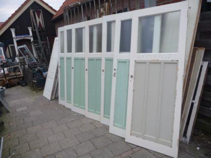 LEEN_Oude bouwmaterialen_7 oude paneeldeuren met glas 100.120.102062