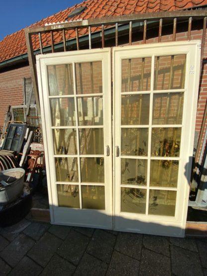 LEEN_Oude bouwmaterialen_Ensuite deuren met glas A16964