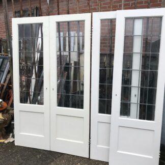 LEEN_Oude bouwmaterialen_Deuren glas in lood A26375