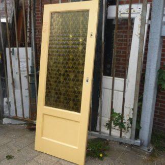 LEEN_Oude bouwmaterialen_Binnendeur met wafelglas 100.40.100184