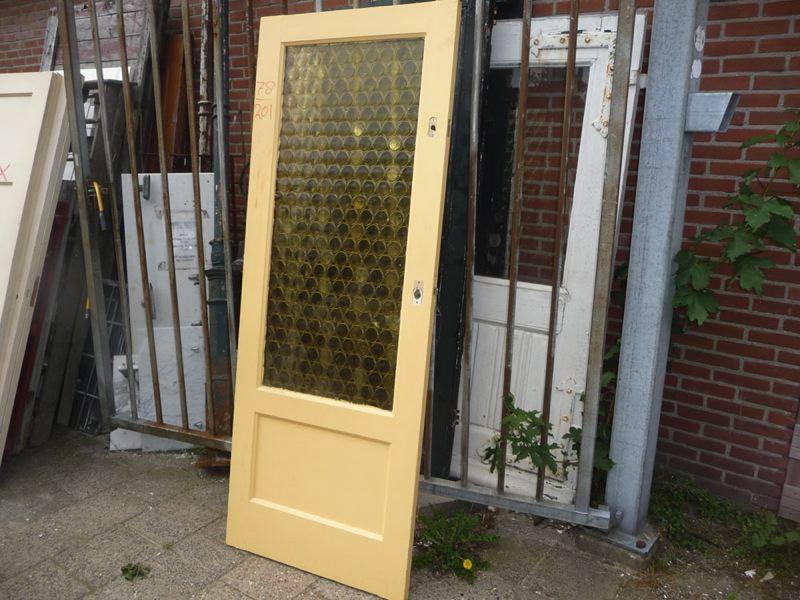 Openslaande Deuren Tweedehands : Glas in lood deuren oude deuren oude bouwmaterialen