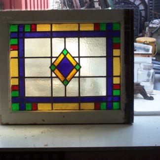 LEEN_Oude bouwmaterialen_Bovenlicht glas-in-lood 300.10.100392
