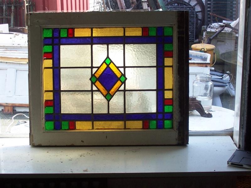 Glas En Lood Ramen.Bovenlicht Glas In Lood 300 10 100392