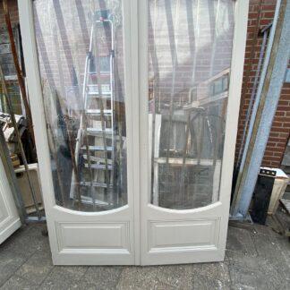 LEEN_Oude bouwmaterialen_Dubbele portaaldeuren met glas C55101