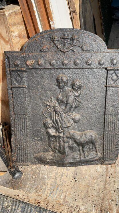 LEEN_Oude bouwmaterialen_Antieke haardplaat C72866