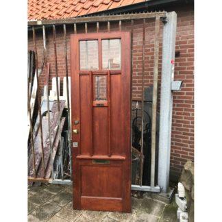 LEEN_Oude bouwmaterialen_Voordeur met glas C14729