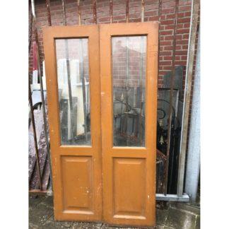 LEEN_Oude bouwmaterialen_Set mooie deuren met glas C75014