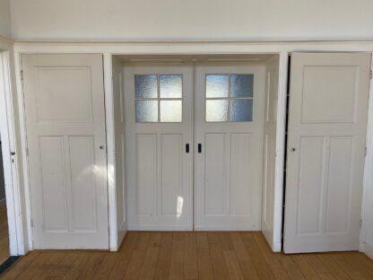LEEN_Oude bouwmaterialen_Set ensuite deuren met glas F59505