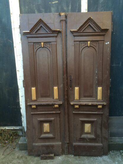 LEEN_Oude bouwmaterialen_Antieke dubbele voordeur F79281