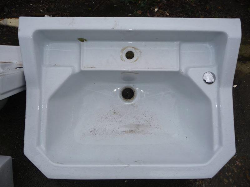 Fonteintje zeshoekig wastafels sanitair te koop bij leen