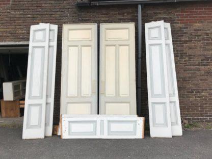 LEEN_Oude bouwmaterialen_Set ensuite deuren met ombouw G58077
