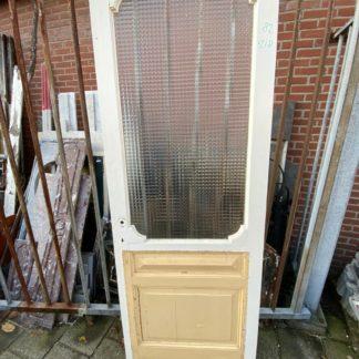 LEEN_Oude bouwmaterialen_Deur met glas G77436