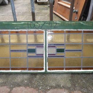 LEEN_Oude bouwmaterialen_Gedeeld glas-in-lood paneel 300.10.100084