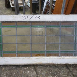 LEEN_Oude bouwmaterialen_Glas in lood bovenlicht 300.10.100087