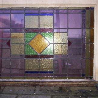 LEEN_Oude bouwmaterialen_Glas in lood bovenlicht 300.10.100454