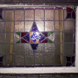 LEEN_Oude bouwmaterialen_Glas in lood bovenlicht 300.10.100459