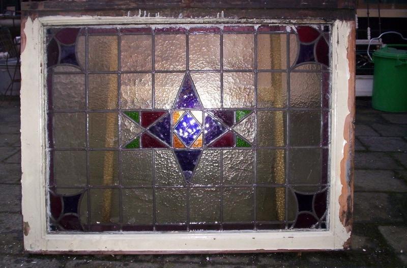glas en lood ramen