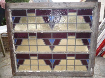 LEEN_Oude bouwmaterialen_Glas in lood paneel 300.20.101966