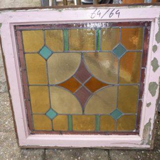 LEEN_Oude bouwmaterialen_Glas in lood paneel 300.10.100086