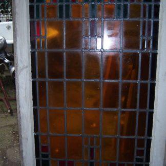 LEEN_Oude bouwmaterialen_Glas in lood paneel  300.20.100242