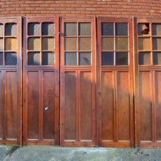 LEEN_Oude bouwmaterialen_Paneel deuren met glas H16134