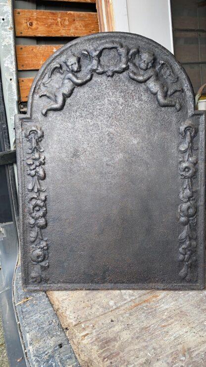 LEEN_Oude bouwmaterialen_Haardplaat 18e eeuw H87028