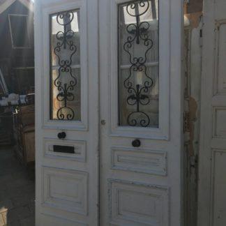 LEEN_Oude bouwmaterialen_Voordeuren met rooster H92408