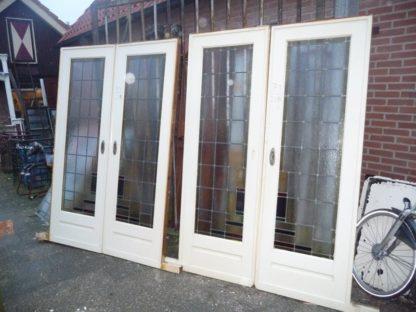 LEEN_Oude bouwmaterialen_Kamer en suit deuren 2 sets 100.30.101767