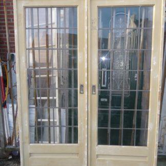 LEEN_Oude bouwmaterialen_Kamer en suit deurset 100.30.101237