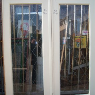 LEEN_Oude bouwmaterialen_Kamer en suite deurenset met glas 100.30.100322