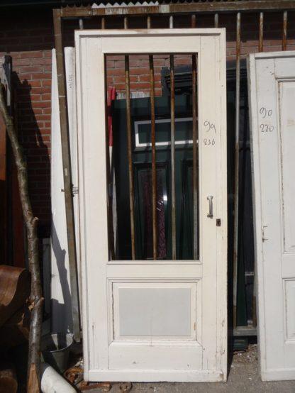 LEEN_Oude bouwmaterialen_Oud tuindeur paneeldeur 100.100.102203