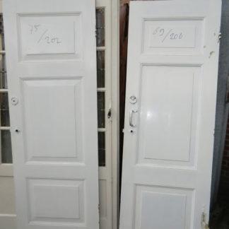 LEEN_Oude bouwmaterialen_Paneel deuren met 3 vakken. 100.10.102303