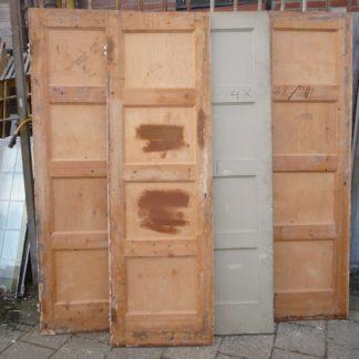 LEEN_Oude bouwmaterialen_Paneel deuren set van 4 100.50.101751