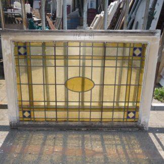 LEEN_Oude bouwmaterialen_Paneel glas-in-lood 300.10.100893