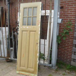 LEEN_Oude bouwmaterialen_Paneeldeur met glas 100.90.100186