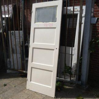 LEEN_Oude bouwmaterialen_Paneeldeur met glas 100.90.100188