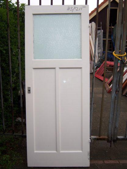 LEEN_Oude bouwmaterialen_Paneeldeur met glas 100.90.100331