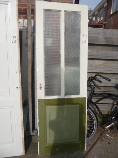 LEEN_Oude bouwmaterialen_Paneeldeur met glas 100.90.102089