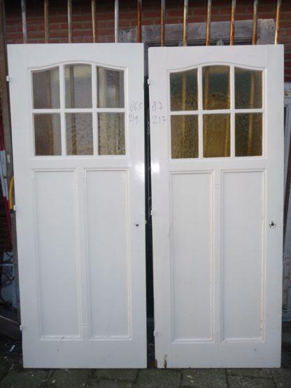 LEEN_Oude bouwmaterialen_Paneeldeur met glas 100.120.101238