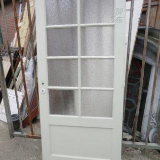 LEEN_Oude bouwmaterialen_Paneeldeur met glas  100.70.102278