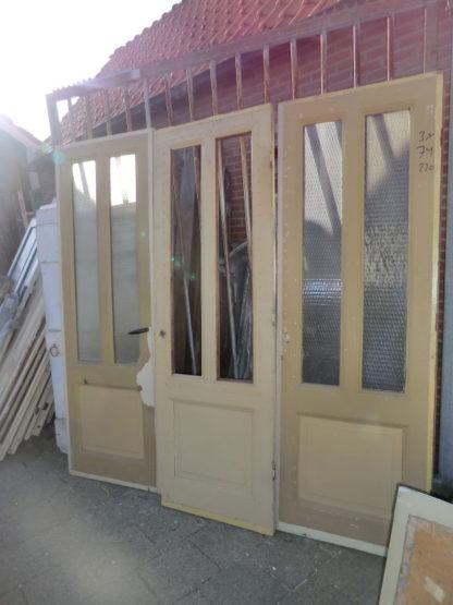 LEEN_Oude bouwmaterialen_Paneeldeuren met glas  100.10.102272
