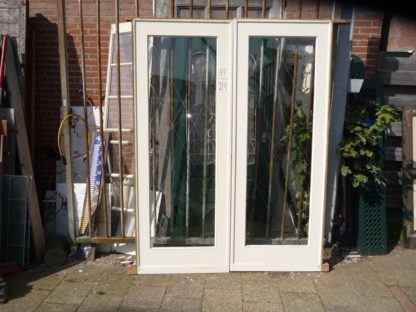 LEEN_Oude bouwmaterialen_Schuifdeur set met glas 800.110.100984