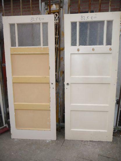 LEEN_Oude bouwmaterialen_Set 4 vaks deuren met glas 100.90.102092