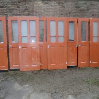 LEEN_Oude bouwmaterialen_Set deuren met glas  100.90.102067