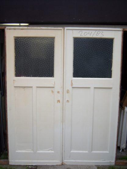 LEEN_Oude bouwmaterialen_Set kamer-en-suite schuifdeuren 100.90.100248