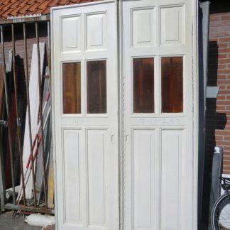 LEEN_Oude bouwmaterialen_Set kamer en suite deuren met glas  100.30.102055