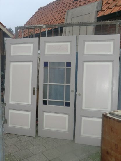 LEEN_Oude bouwmaterialen_Set paneeldeuren  100.10.102063