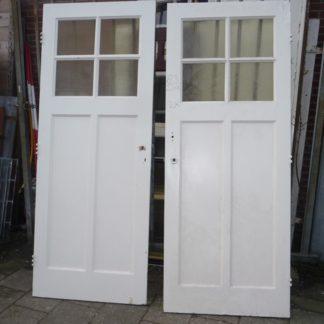 LEEN_Oude bouwmaterialen_Set paneeldeuren met glas 100.90.101362