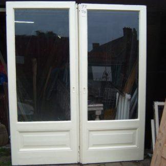 LEEN_Oude bouwmaterialen_Set tuindeuren met glas 100.100.100244
